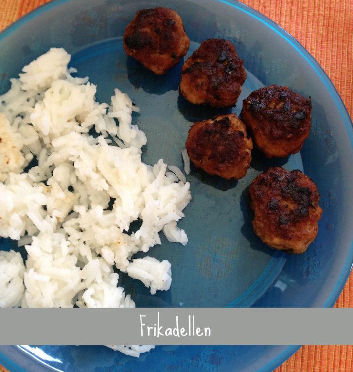 Rezept Frikadellen mit Reis Baby