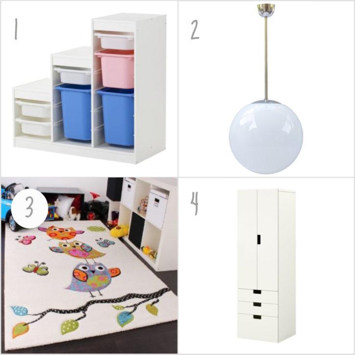 Kinderzimmer einrichten Ideen IKEA