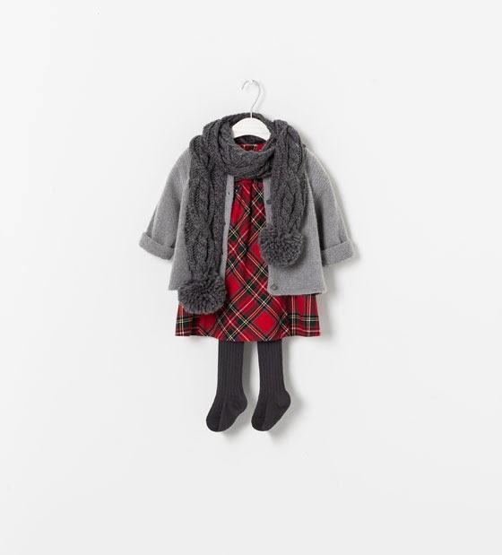 Weihnachten Outfit Zara Mädchen