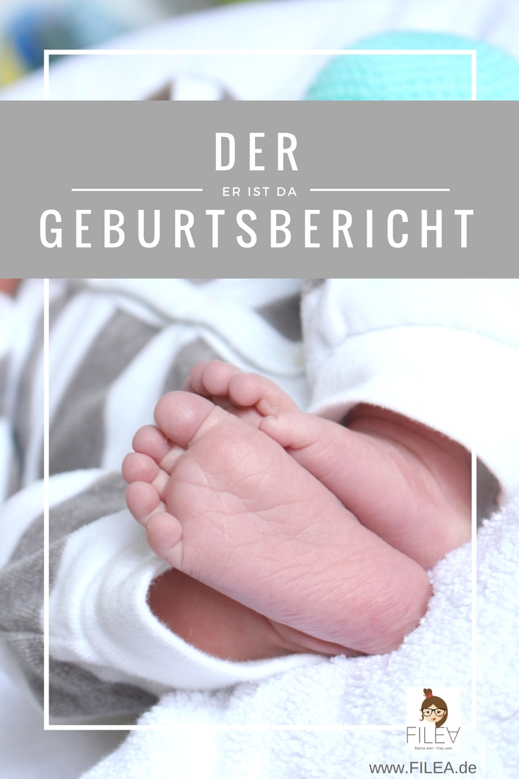 Geburtsbericht unseres Sohnes Pinterest schnelle Geburt