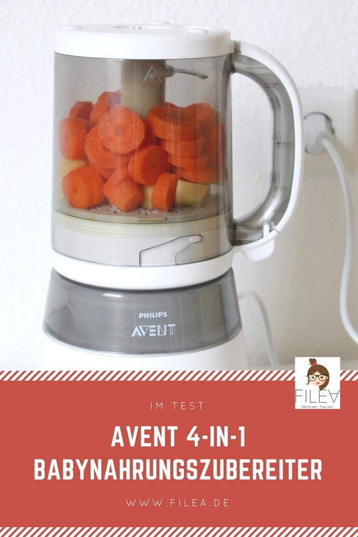 Philips Avent 4-in-1 Babynahrungszubereiter Pin