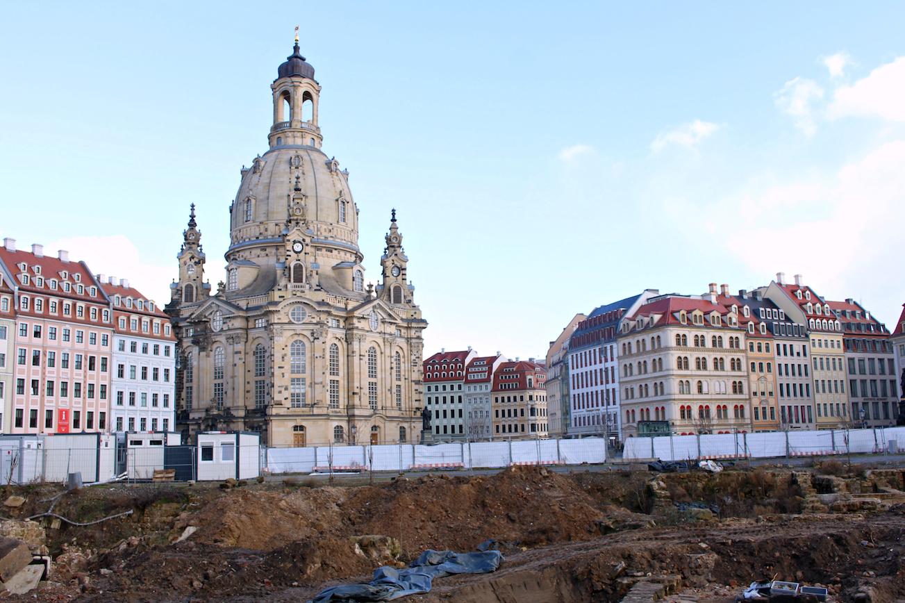 Reisen mit Kleinkind Dresden Frauenkirche