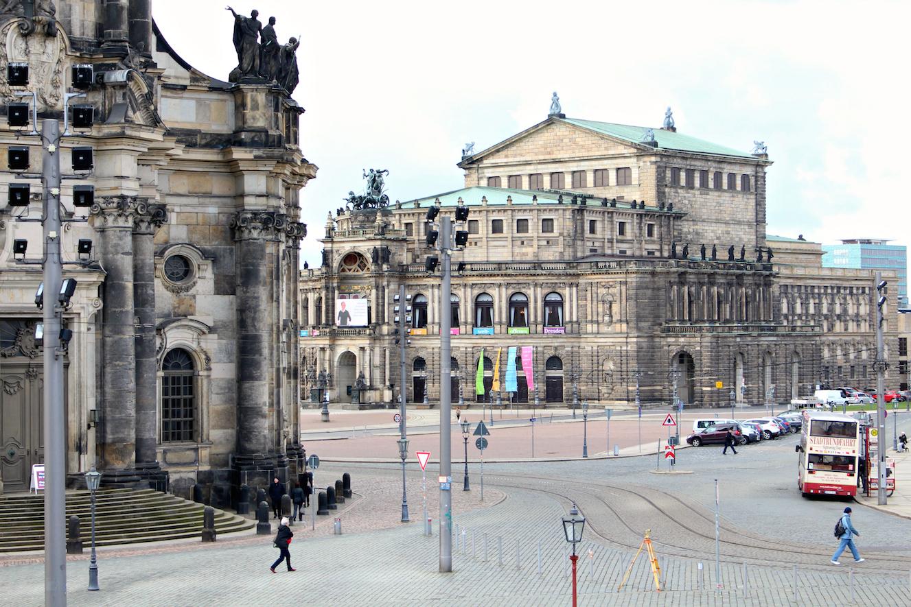 Reisen mit Kleinkind Dresden Semperoper