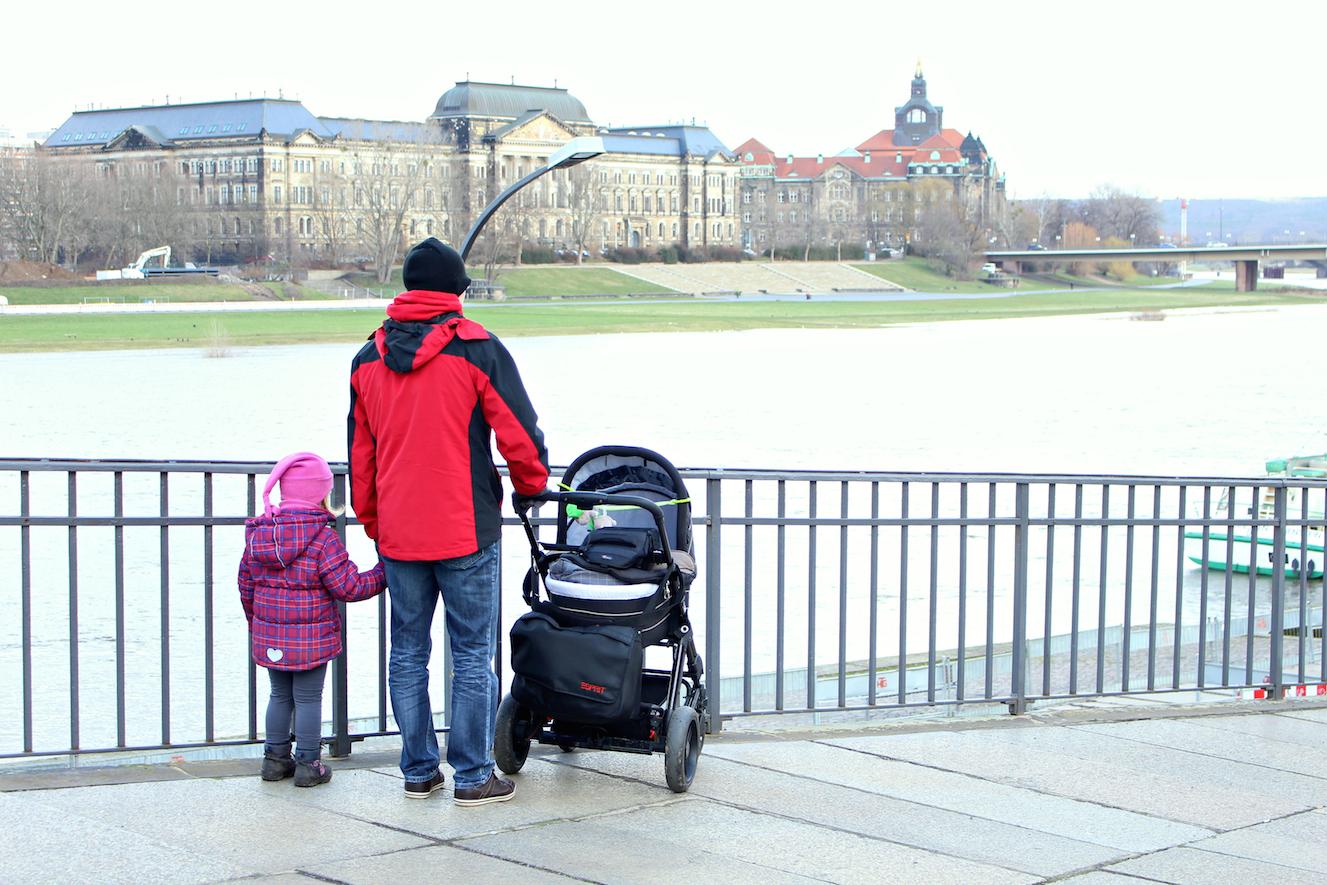 Reisen mit Kleinkind Dresden Brühlsche Terrassen