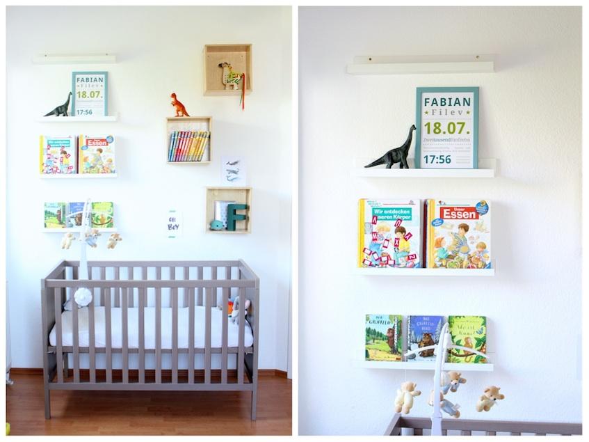 Kinderzimmer Jungen Bett Regal Bücher