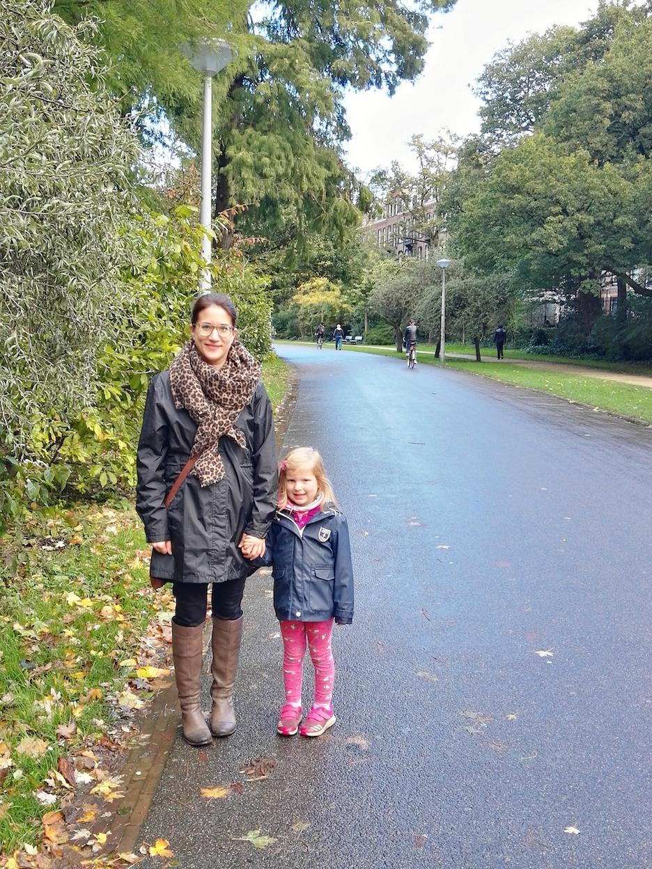 Amsterdam Reisen mit Kleinkind Vondelpark