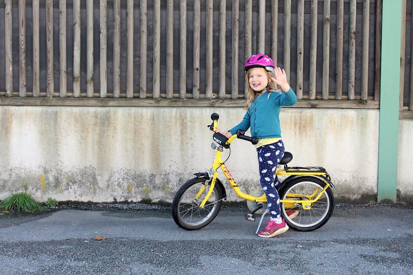 Wann lernt mein Kind endlich Fahrradfahren