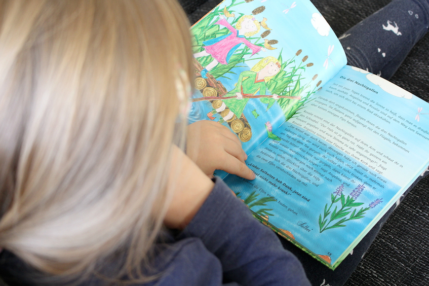 Heilkräuter Natur für Kinder Kinderbuch Elfenapotheke Kräuter