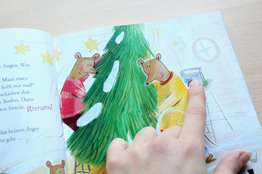 Weihnachtsbuch Kinderbuch Hör mal Komm wir feiern Weihnachten Carlsen Verlag