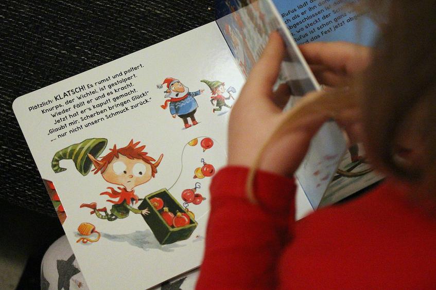 Weihnachtsbuch Knurps der Weihnachtswichtel Carlsen Verlag