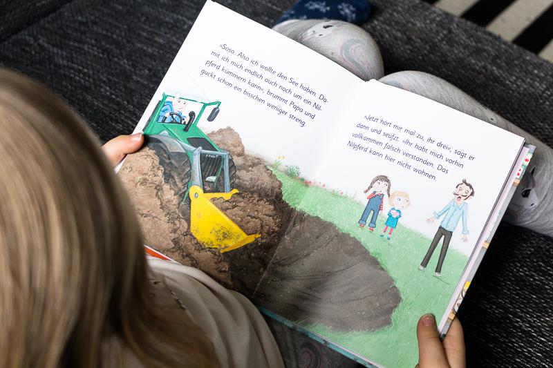 Ziemlich beste Schwestern arsEdition Kinderbuch Sarah Welk Quatsch mit Soße Innenseite Bilder
