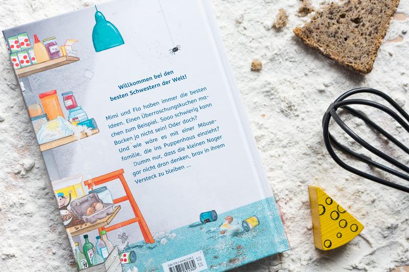 Ziemlich beste Schwestern arsEdition Kinderbuch Sarah Welk Quatsch mit Soße Rückseite Buchrücken